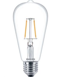 Λαμπτήρας PHILIPS Filament LED 2,3W=>25W 250Lm E27 2700K ST64 ΤΥΠΟΥ EDISON